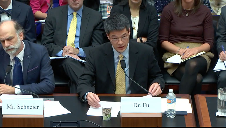 Professor to Congress: 'Internet of Things security is woefully inadequate'